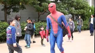 アメージング・スパイダーマン AmazingSpiderman 2018 八景島(握手バイバイ)