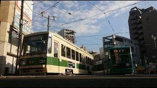 広島電鉄800形811号&5000形5008号『CX-8ラッピング』土橋〜小網町