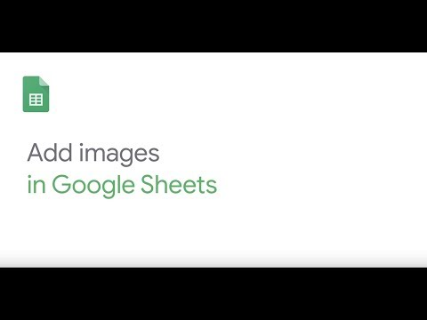 How To: Add images to Google Sheets
