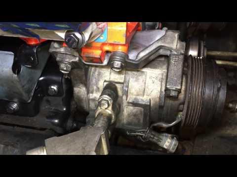 Installing AC Compressor Rebuild vid 7