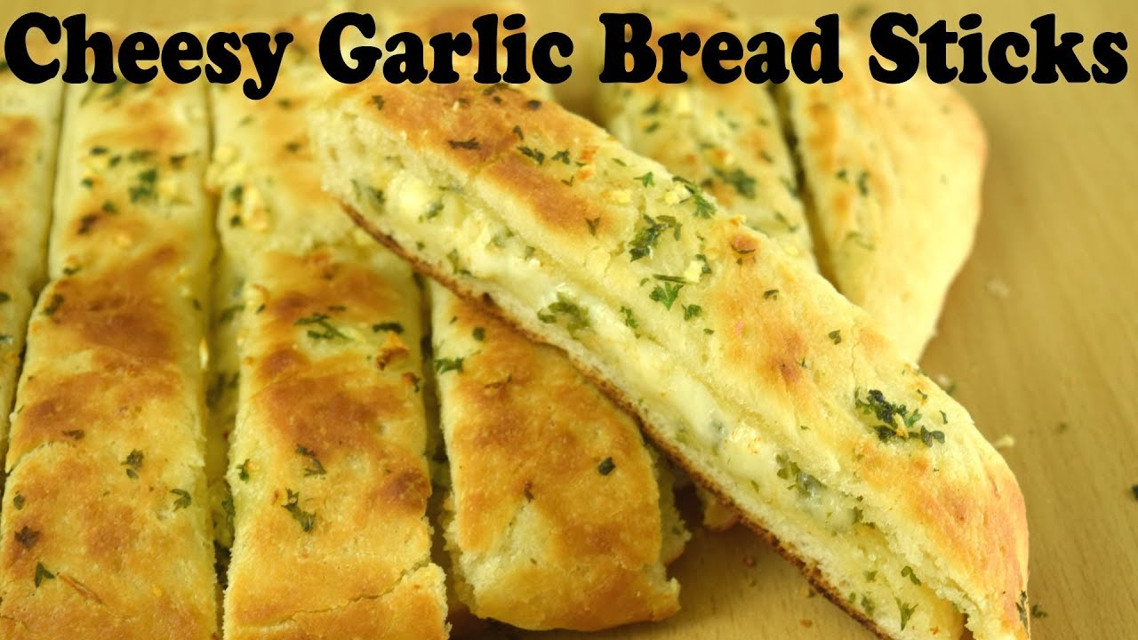 Cheesy Garlic Bread Best Ever Cheesy Garlic Bread Recipe Soft Garlic Bread Sticks Yummylicious