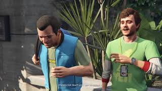 Grand Theft Auto V (PS4) Walkthrough Part 6 -Friend Request