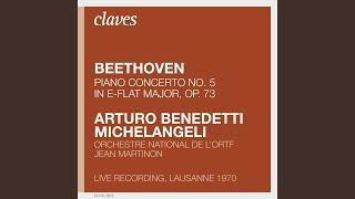 Piano Concerto No. 5 in E-Flat Major, Op. 73: II. Adagio un poco mosso (Live Recording,...