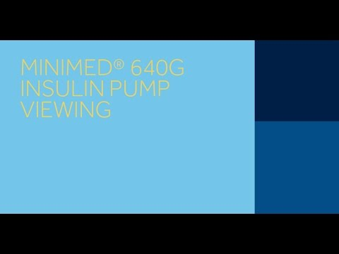 MiniMed 640G System^ Pump Viewing