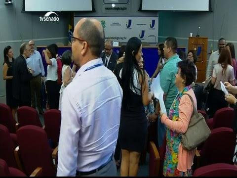 Seminário – Bibliotecas: Diálogos para mudança –  TV Senado ao vivo  - 12/03/2019