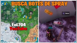 Fortnite FINDS THE SPRAY BOTTLES LOST