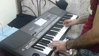 عزف احمد الساهر .