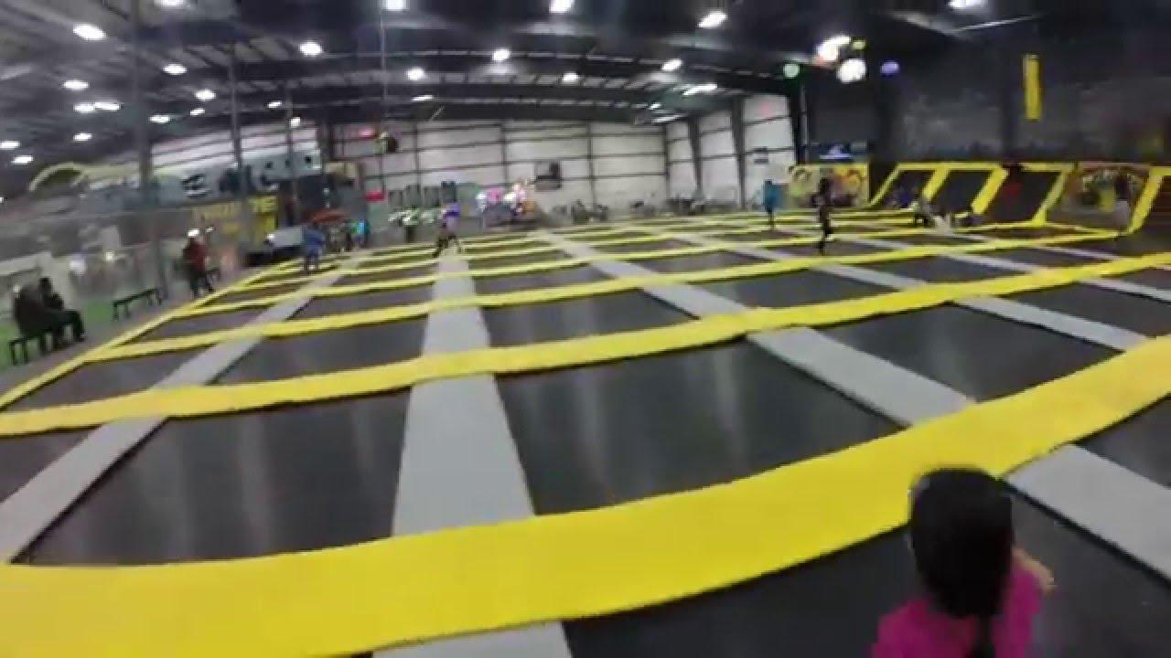 8ea48638a29 Fun at HiWiRE Trampoline Park in Plex Indoor Sports of Sandhills ...