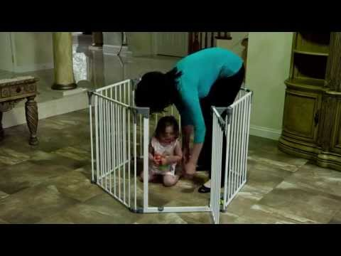 Royale Converta 3-in-1 Playpen, Fireplace Guard, & Gate [849]