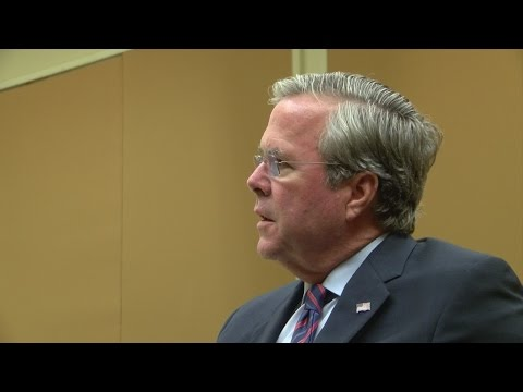 Exclusive:  one-on-one with Jeb Bush