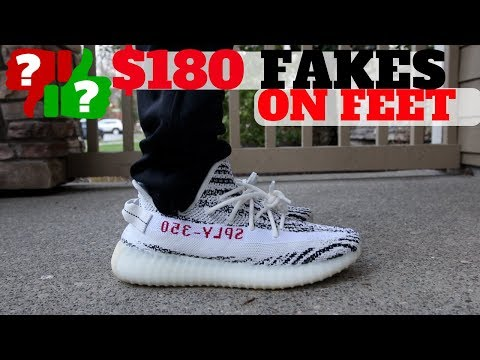 "You Won't Believe How The MOST EXPENSIVE ""FAKE YEEZYS"" Feel On Feet..."