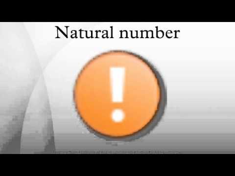 Natural number