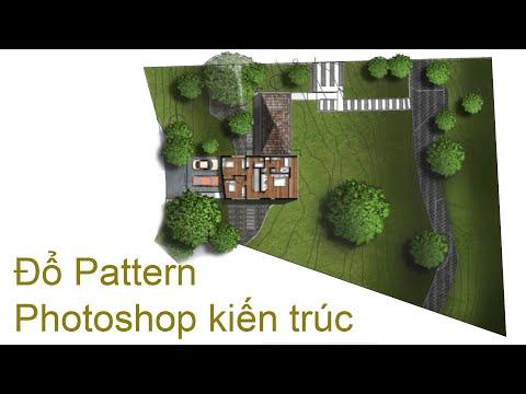 Photoshop Kiến Trúc |  Đổ Mặt Bằng Kiến Trúc - Quy Hoạch Pattern