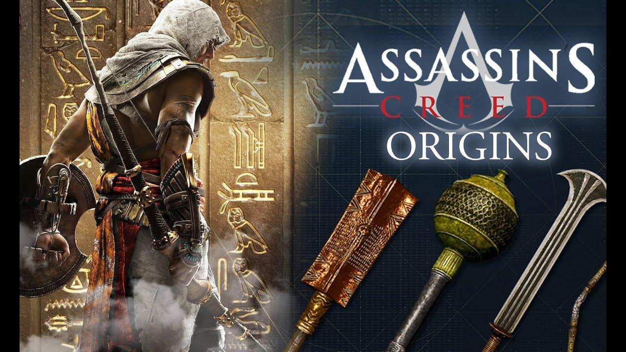 Assassin's Creed Origins - Unlock Super Rare Weapons At ...
