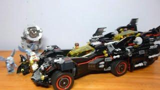 Lego Batman Movie Ultimate Batmobile Review - Set #70917