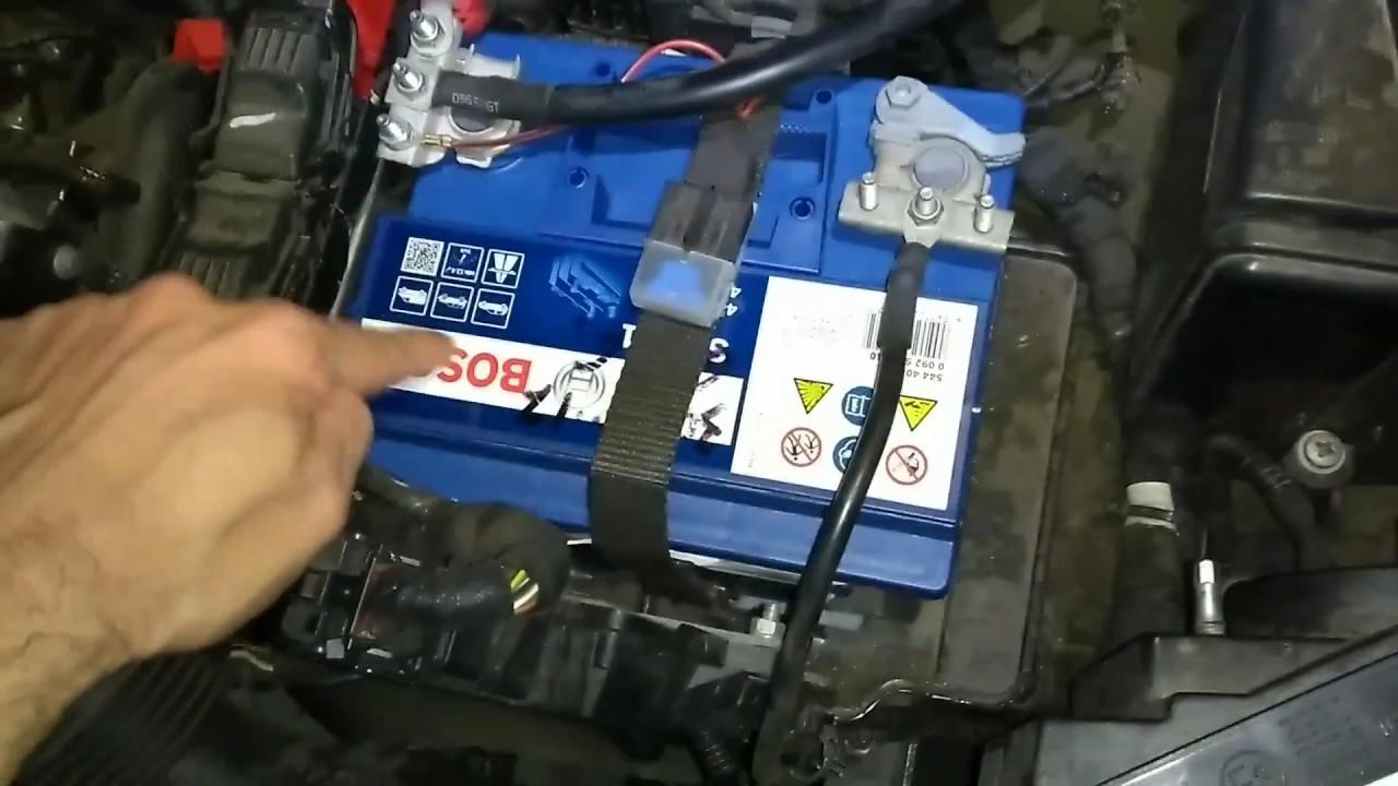 Fiat Panda 2017 >> Tutorial sostituzione batteria Panda 1.2 benzina 51/69 kW ...