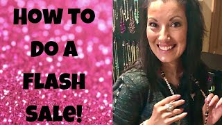 How to do a flash sale!