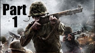 "Call Of Duty: WWII Beta Walkthrough Gameplay Part 1 ""Protect Those Who Can't Protect Themselves!!!"""