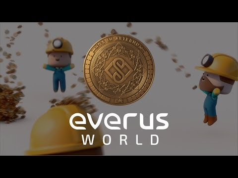 "Everus World Cryptocurrency Commerce App 3D Teaser - ""Fintech Meets Imagination"""