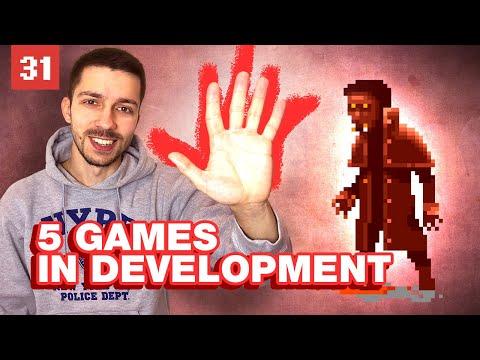 Game Development Progress: 5 Mobile Games On The Go!