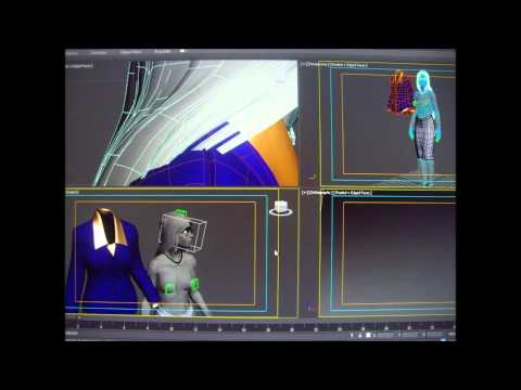 Rowoss, Isabelle-secretary, 3d model with jacket, Autocad 3d model...