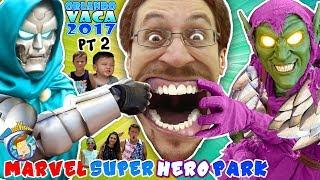 Universal Studios Hates Us! MARVEL SUPER HERO ISLANDS of ADVENTURE THEME PARK! FUNnel Summ ...