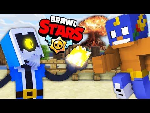 Monster School : BRAWL STARS CHALLENGE - Minecraft Animation
