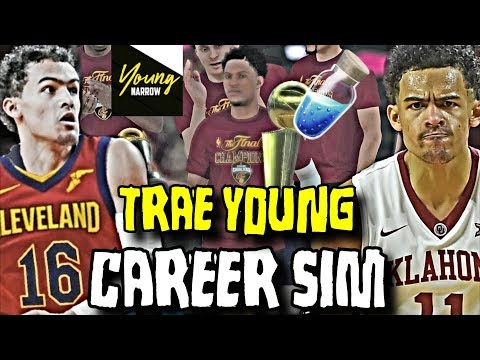SIMULATING TRAE YOUNG'S NBA CAREER ON THE CAVALIERS!! - NBA 2K18 CAREER SIMULATION