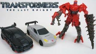 Transformers The Last Knight One Step Turbo Changers Scorn Cogman Autobot Drift Cyberfire with Drago