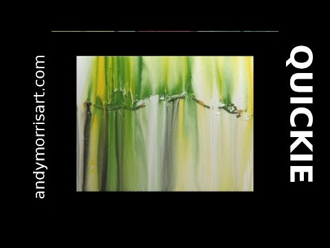 Acrylic Abstract Painting Techniques for Beginners with Andy Morris