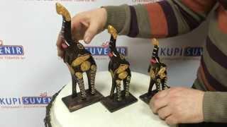 Набор статуэток «Индийские слоны»