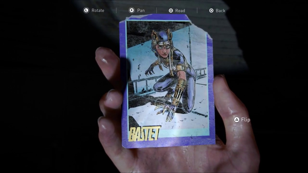 The Last Of Us Part 2 The Tunnels Trading Card Collectible Locations Seattle Day 1
