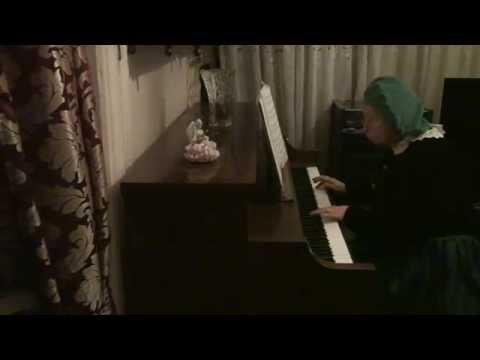 FRANCOIS GOSSEC GAVOTTE  from Opera Rosine piano