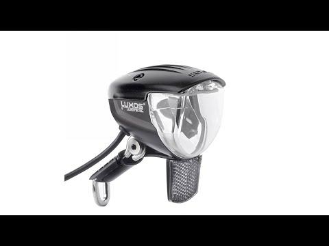 Busch+Müller Lumotec IQ2 Luxos U Senso Headlight for Dynamo Hubs Unboxing