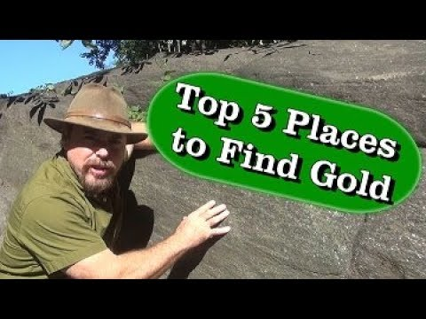 TOP 5 PLACES | To Find Gold In NY State - Ask Jeff Williams