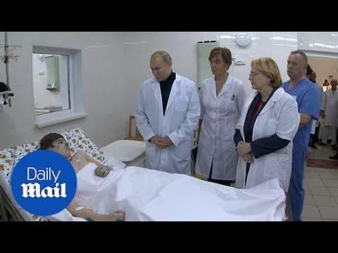 Putin visits Magnitogorsk building collapse survivors in hospital