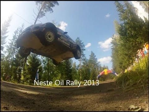 Neste oil rally finland 2013 ouninpohja big jump