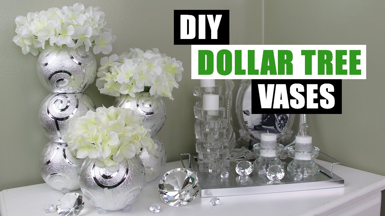 Diy dollar tree glam vases diy floral home decor youtube diy dollar tree glam vases diy floral home decor reviewsmspy