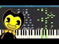 Bendy and the Ink Machine Song - Blood And Ink - NateWantsToBattle - Piano Tutorial