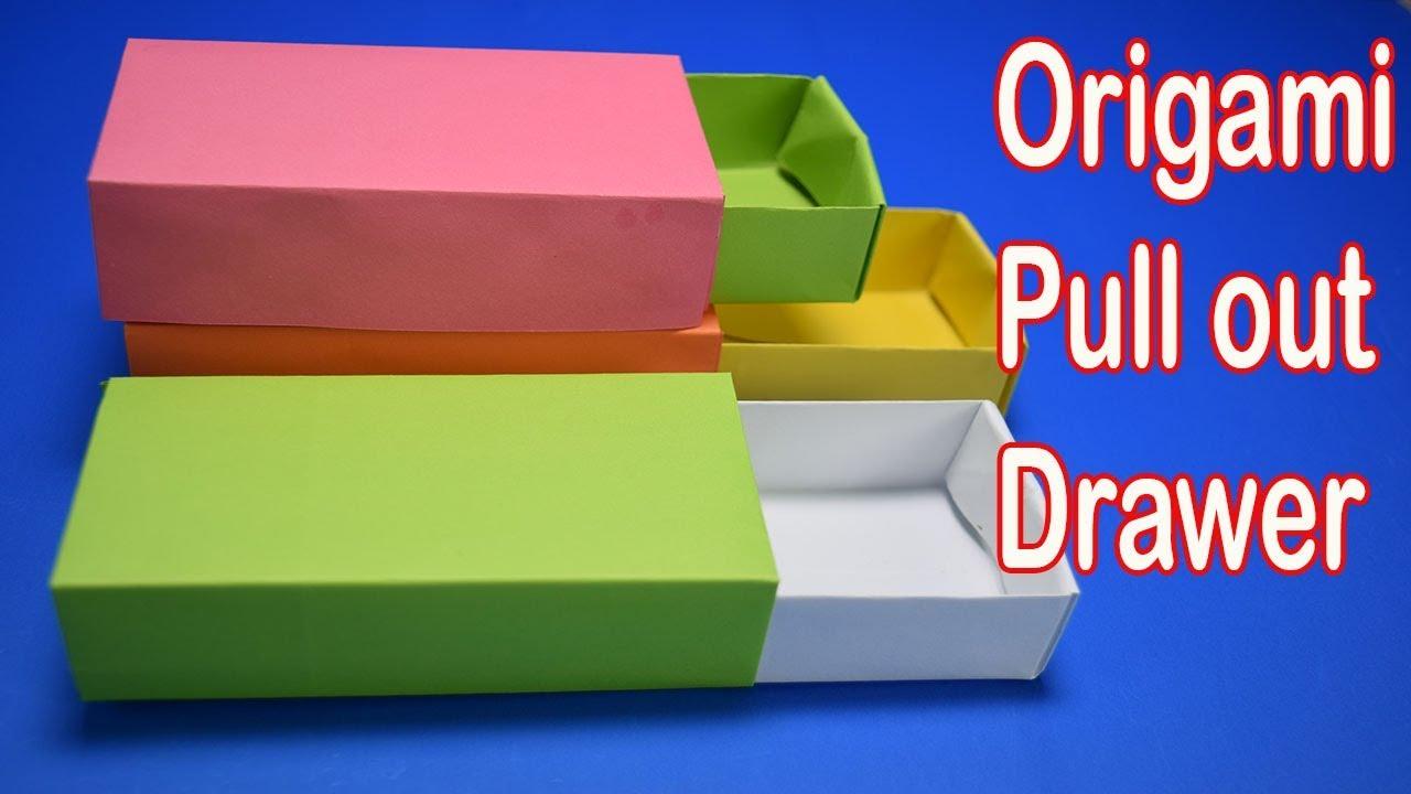 Origami Long Flat Box Instructions - Paper Kawaii - YouTube | 720x1280