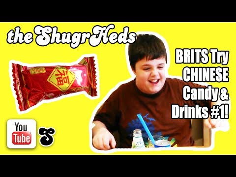 🍭🇨🇳 Brits Try Chinese Candy from Wing Yip Part 1 🇨🇳🍭