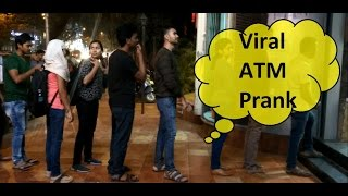 Viral ATM Prank   Prank in India   Abbe Chal