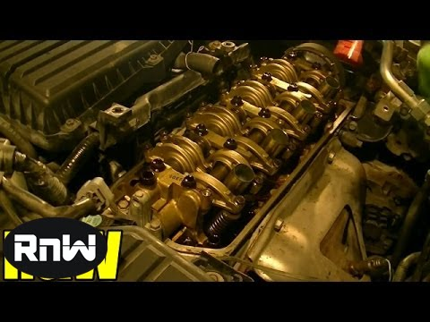 Honda Civic 1.7L Valve Cover Gasket Replacement - YouTube