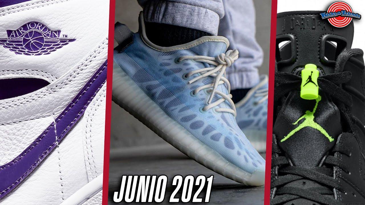 LOS MEJORES LANZAMIENTOS DE JUNIO 2021 (JORDAN, NIKE, YEEZY)