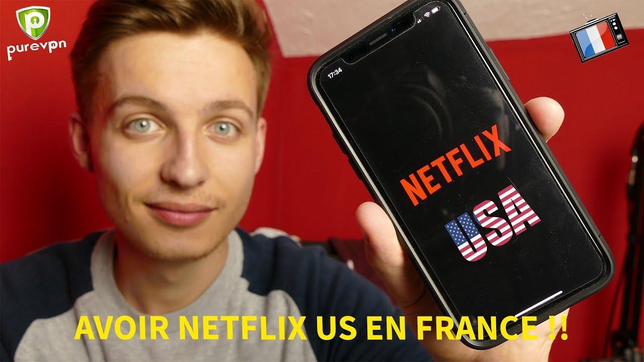 Brancher Netflix américain au Canada