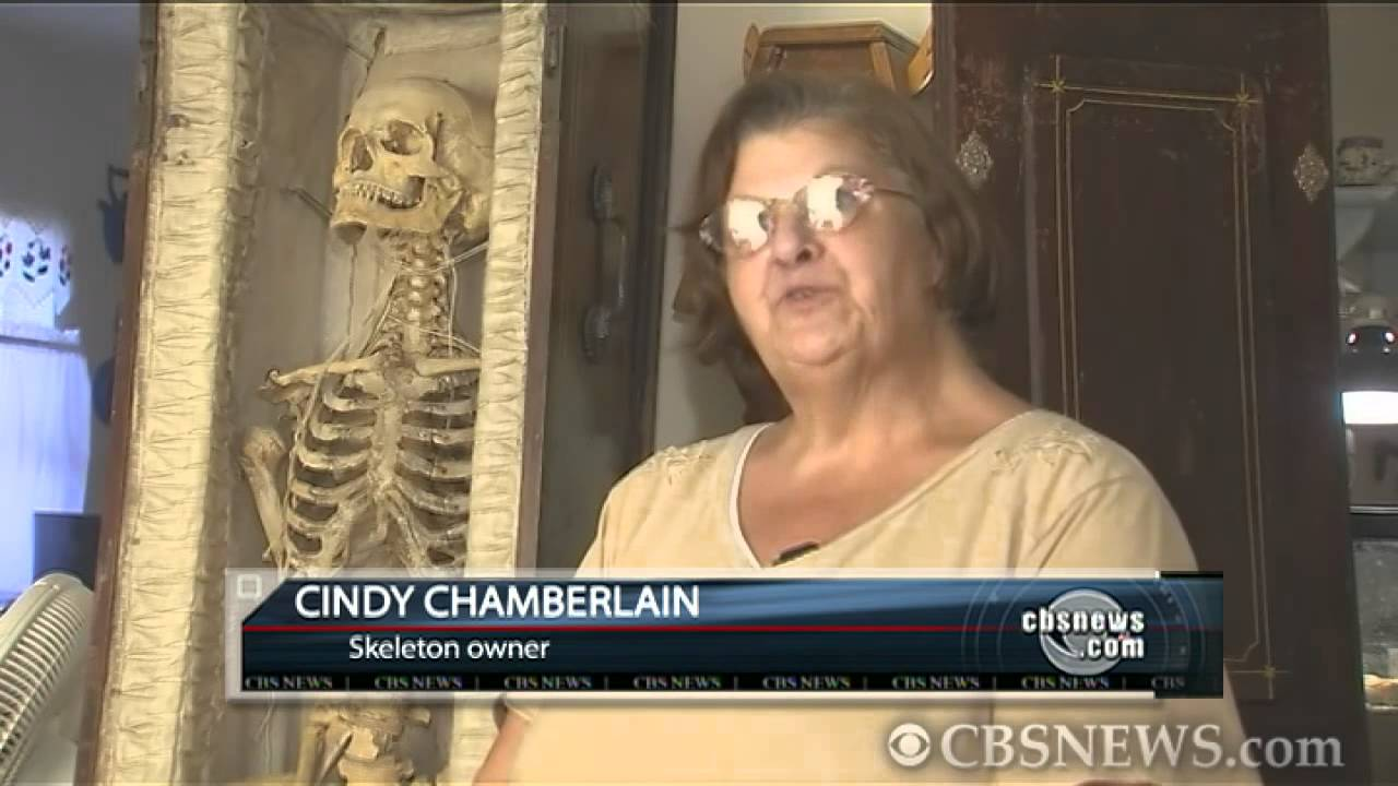 Human skeleton for sale on Craigslist