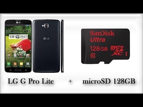 LG G Pro Lite Test MicroSD 128GB