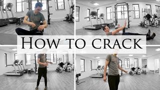 How To Pop/Mobilize Your Hip Joints ★ Hip Mobility Exercises