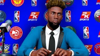 GETTING DRAFTED NUMBER ONE OVERALL WORST TEAM I COULD GET DRAFTED BY! NBA 2K20 MyCAREER