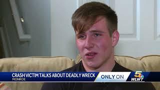 Monroe teen remembers girlfriend killed in prom night crash